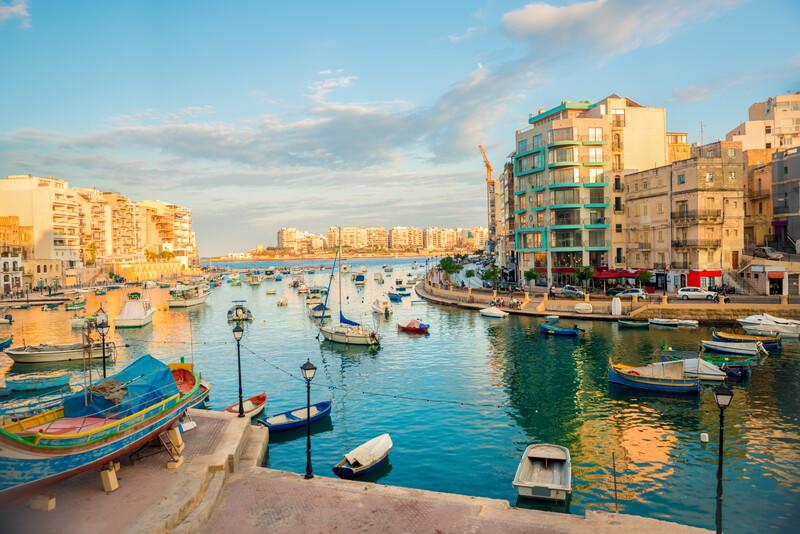 Séjour linguistique Malte, St Julians - Port