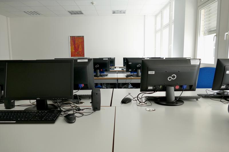 Séjour linguistique Allemagne, Hamburg - DID Hamburg - Salle des ordinateurs
