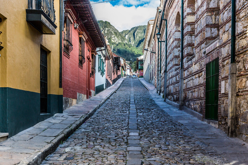 Sprachaufenthalt Kolumbien, Bogota - La Candelaria