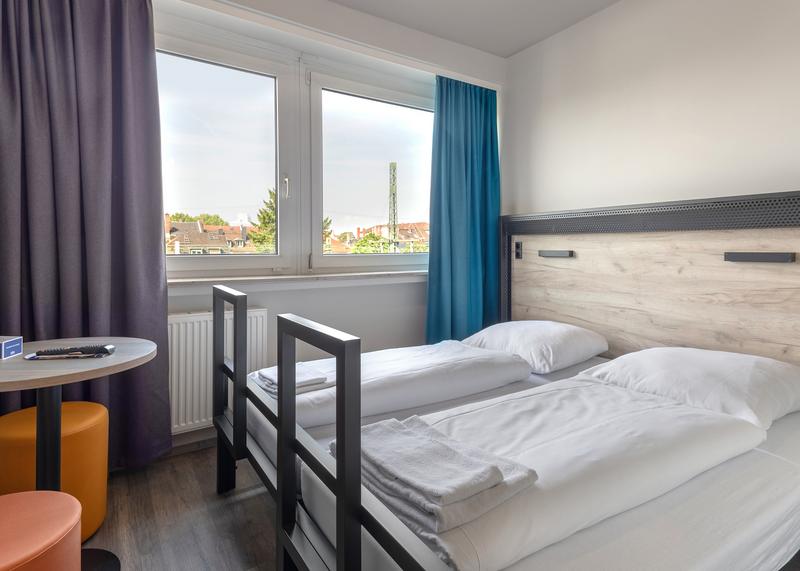 Sprachaufenthalt Deutschland, Frankfurt - DID Deutsch Institut Frankfurt - Accommodation - Hotel - Zimmer