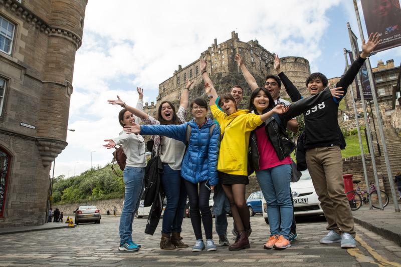 Sprachaufenthalt England, Edinburgh - CES Edinburgh - Studenten