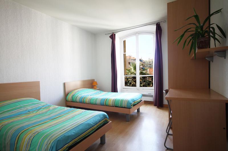 Sprachaufenthalt Frankreich, Nizza - Azurlingua - Accommodation - Residenz Central Campus - Zimmer