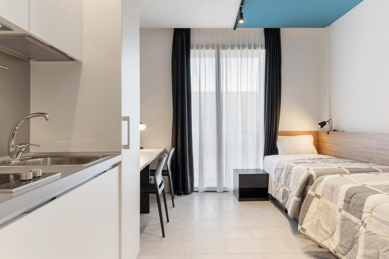 Sprachaufenthalt Italien - Venedig - Istituto Venezia - Accommodation - Apartment Santa Marta - Doppelzimmer