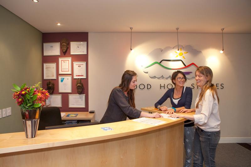 Sprachaufenthalt Südafrika, Cape Town - GHS City Centre - Rezeption