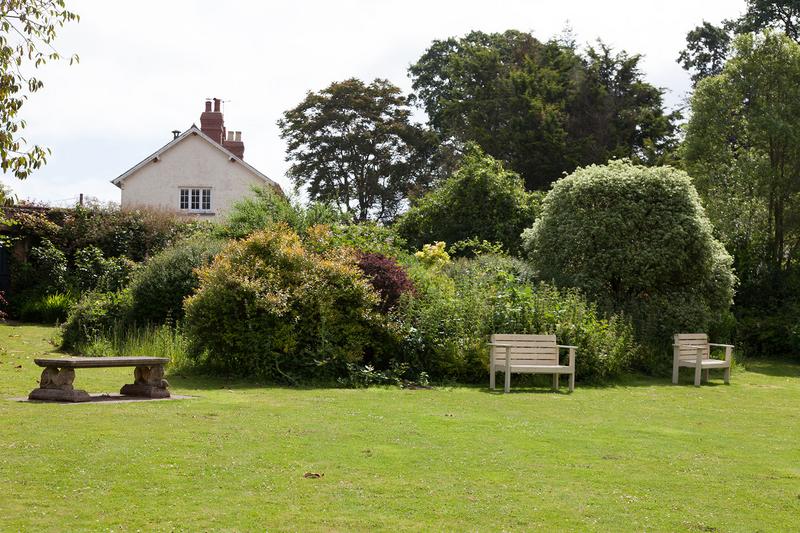 Séjour linguistique Angleterre, East Budleigh - Accent International East Budleigh - Jardin